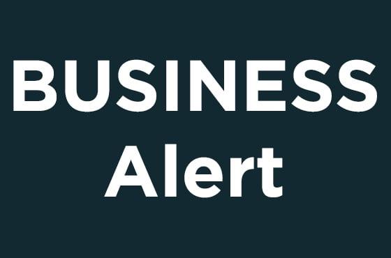 DHJJ Business Alert