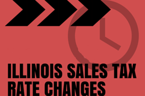 Illinois Sales Tax Rate Changes