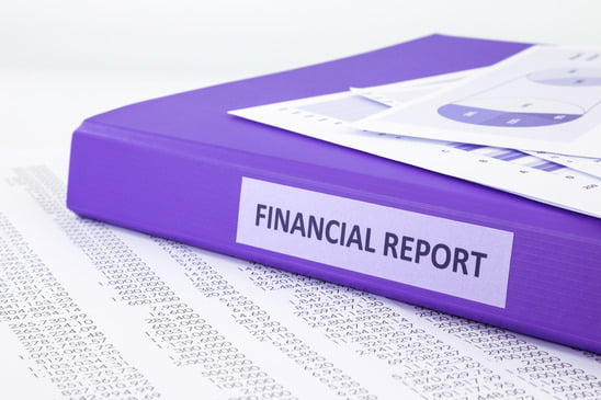 how to do a financial report