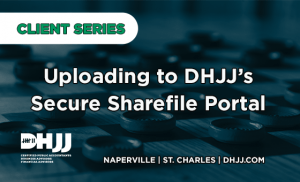 uploading to dhjj sharefile title page