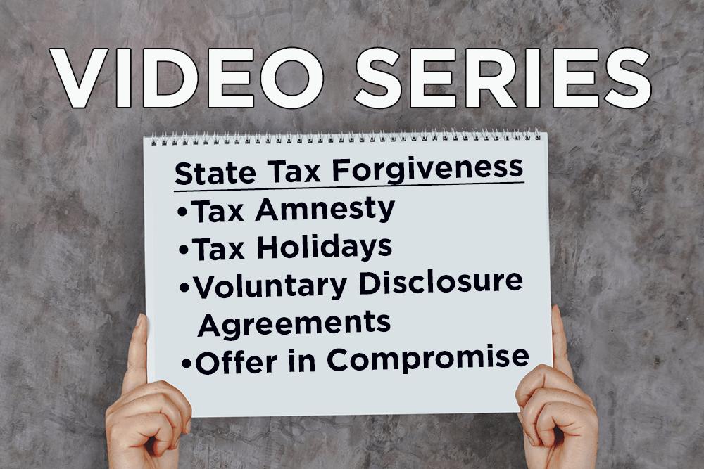 State Tax Forgiveness Series List