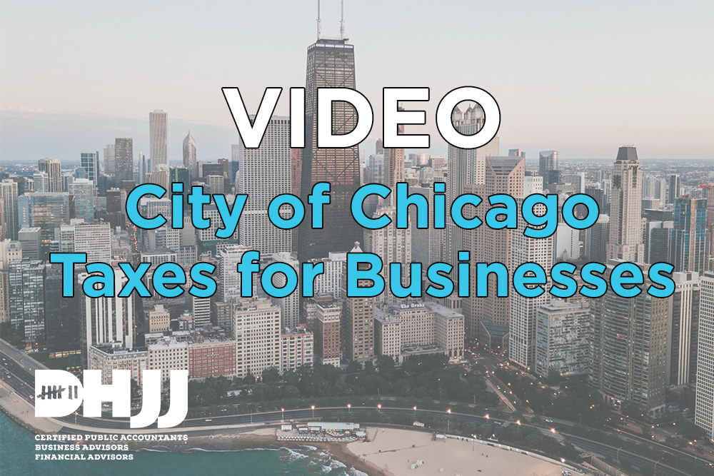 City of Chicago Tax for Businesses